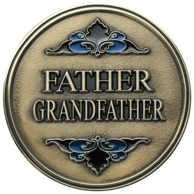 Father - Grandfather Medallion